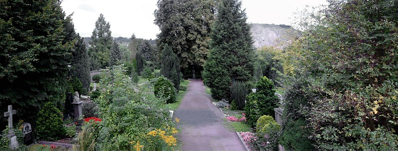 alter friedhof panorama